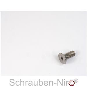25 Edelstahl V4A Innensechskant Senkschrauben ISO 10642 A4 M12x30